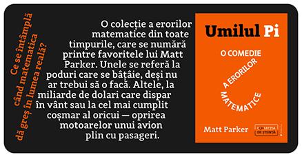 Umilul Pi de Matt Parker