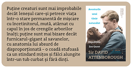 Aventurile unui tanar naturalist Sir David Attenborough