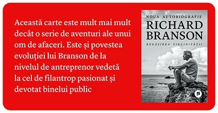 Richard Branson Regăsirea virginității