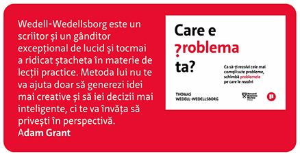 Care e problema ta Thomas Wedell Wedellsborg