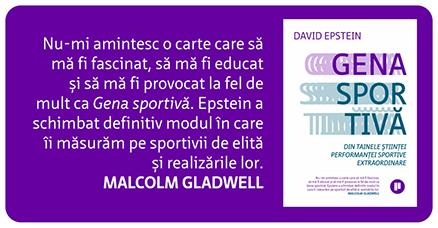 Gena sportivă de David Epstein