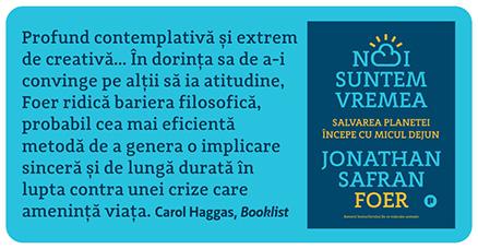 Noi suntem vremea de Jonathan Safran Foer