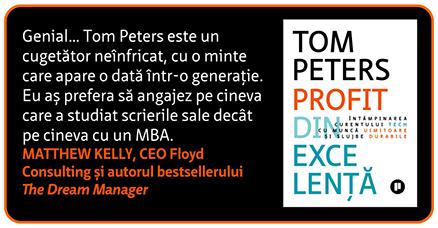 Profit din excelență de Tom Peters