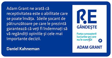 Adam Grant Regândește