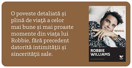 Biografia Robbie Williams Reveal
